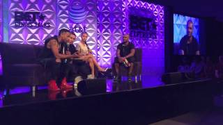 bet experience genius talks quincy brown karrueche tran