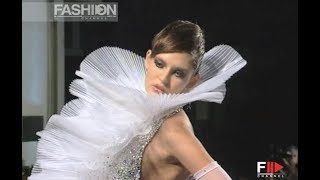 FAUSTO SARLI Haute Couture Fall 2007 2008 Rome - Fashion Channe
