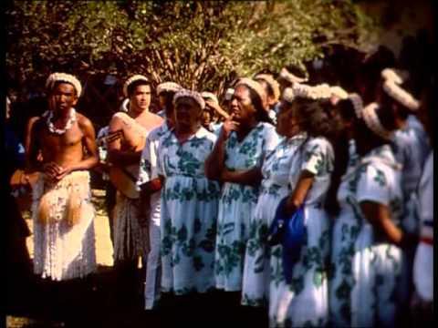 Danses de Anaa, archipel des Tuamotu