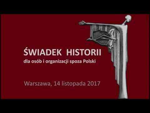 """IPN TV – Uroczystość wręczenia nagród """"Świadek historii""""."""