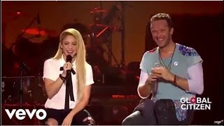 Shakira Coldplay  in Global Citizen Festival Hamburg   Performance Complete HD