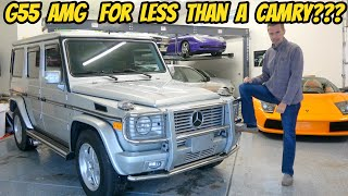 I Bought The Cheapest Mercedes G55 AMG In The USA (With 222,000 Miles!)