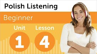 Learn Polish - Polish Listening - Listening to a Polish Forecast