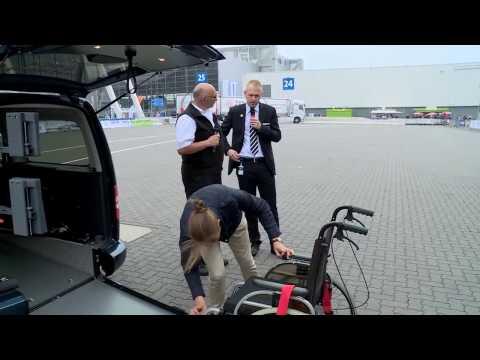 Volkswagen Caddy Maxi для перевозки инвалидов