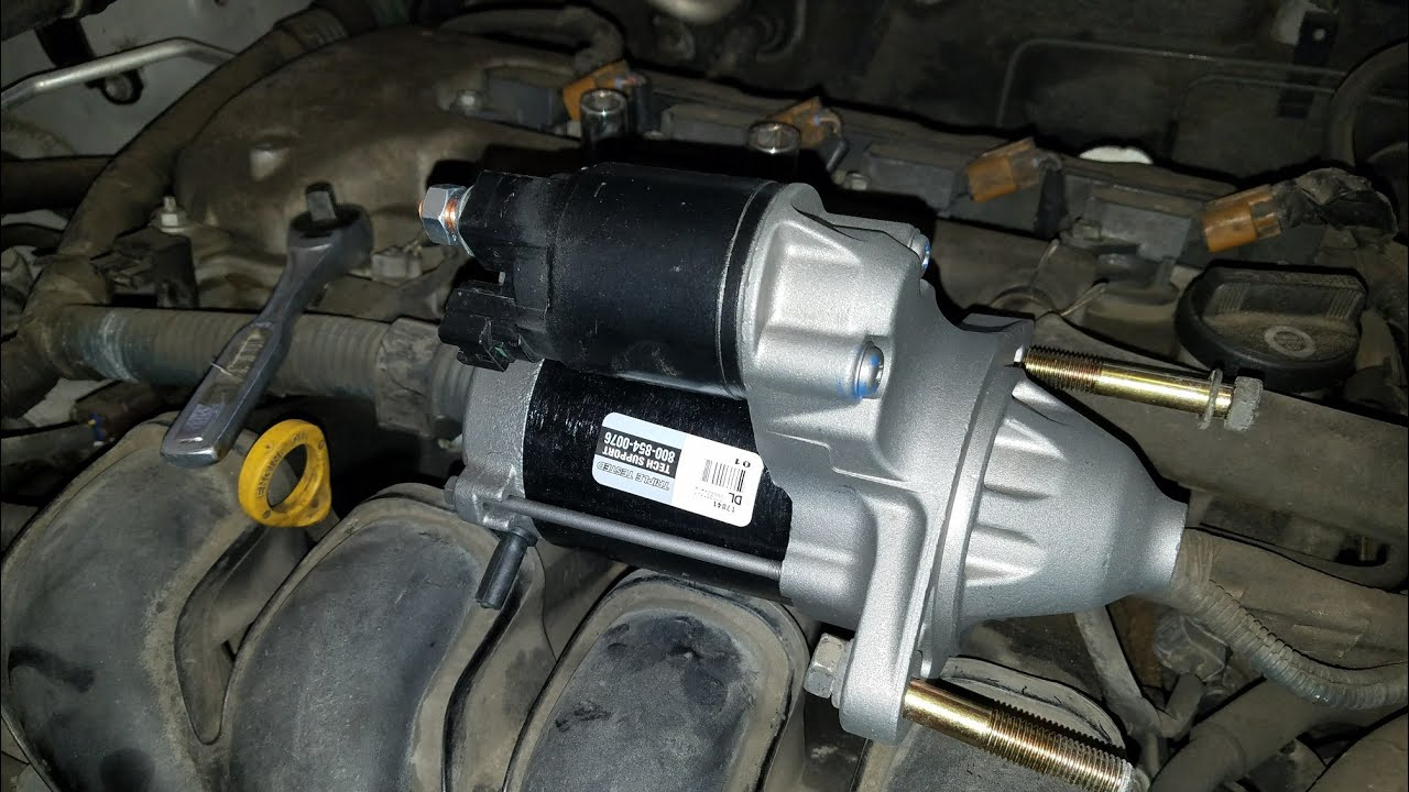 How To Replace Starter On A 2005 Toyota Corolla