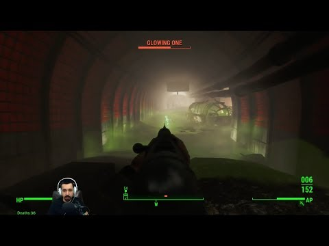 Fallout 4 - 54 - Warehouse to Mass Pike Tunnel