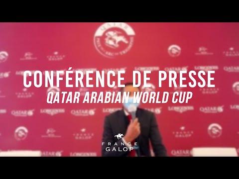 Conférence de presse : Qatar Arabian World Cup