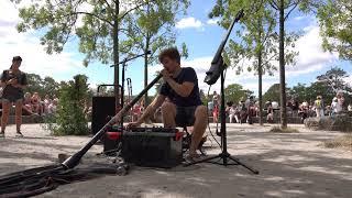 @Reinhardt Buhr  Pt6 / Multi instrumentalist + Loop artist / Boss-RC505 / Shofar / E-Cello