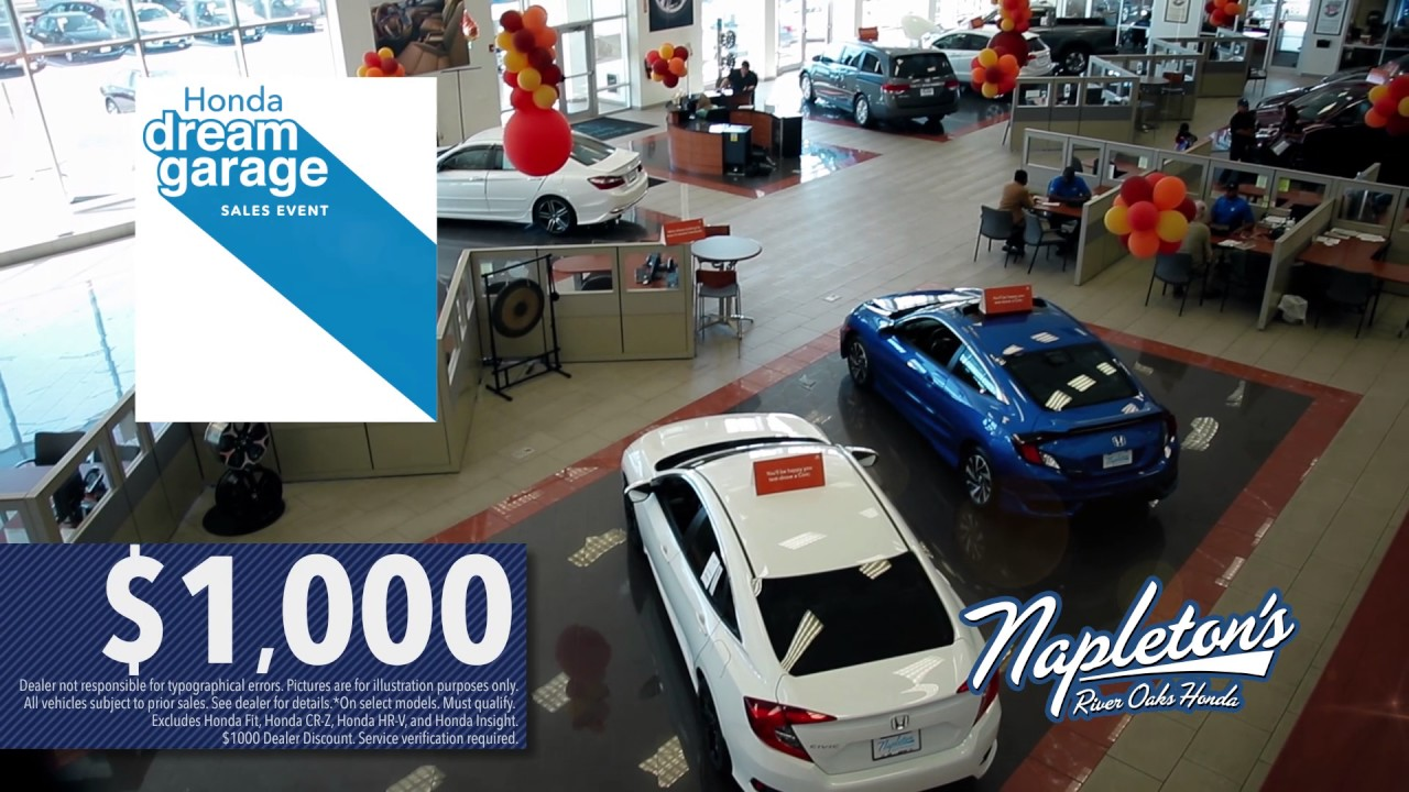 Napletonu0027s River Oaks Honda Is A Part Of Your Community