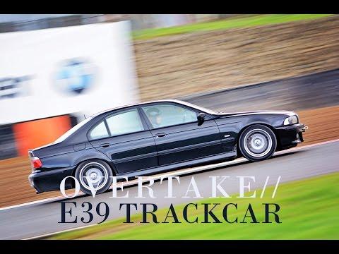BMW E39 Track Car at Bedford Autodrome... laps in the rain!