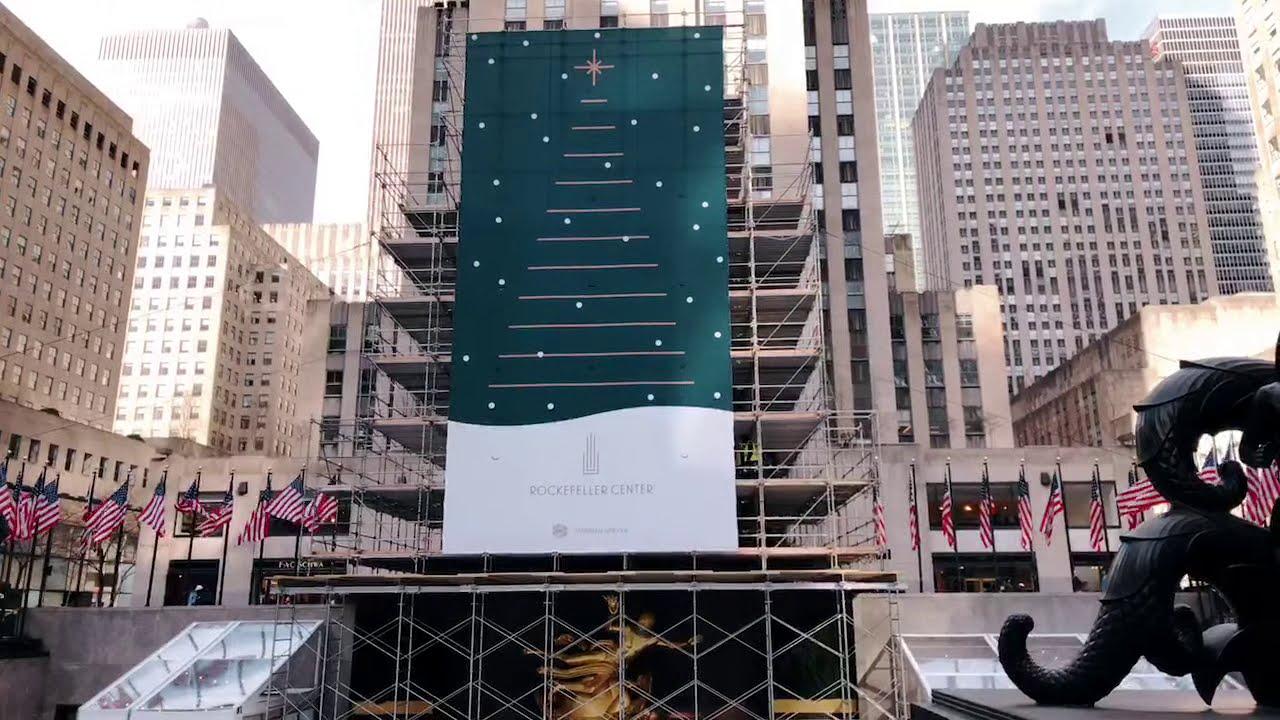 New York City: passeggiata LIVE attorno al Rockefeller Center 🦉🌲