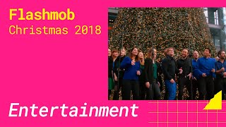 Christmas Flashmob 2018 Berlin Hauptbahnhof