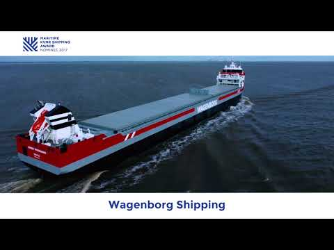 Maritime KVNR Shipping Award 2017 - Genomineerde Wagenborg Shipping met EASY MAX