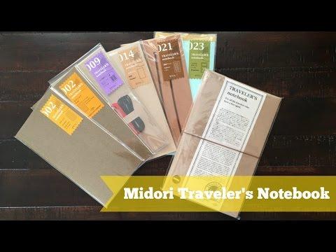Midori Traveler's Notebook