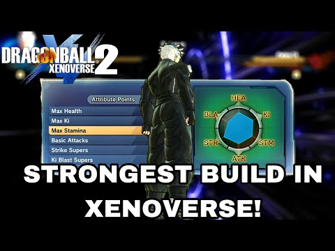 The STRONGEST BUILD IN THE GAME! Male Earthling Hybrid Build Is BROKEN!