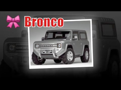 ford bronco rampage |  ford bronco leaked |  ford bronco tfl | Buy new cars