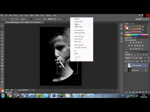 photoshop cs6 how to add weight