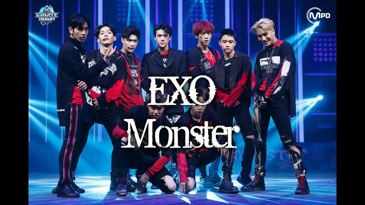 EXO - MONSTER MV names/members - YouTube