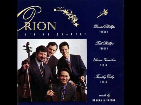 Orion String Quartet- Brahms String Quartet in A minor iii. Quasi Minuetto