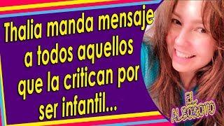 Thalía No Se Queda Callada Y Así Le Responde A Quienes Se Buri4n De Ella