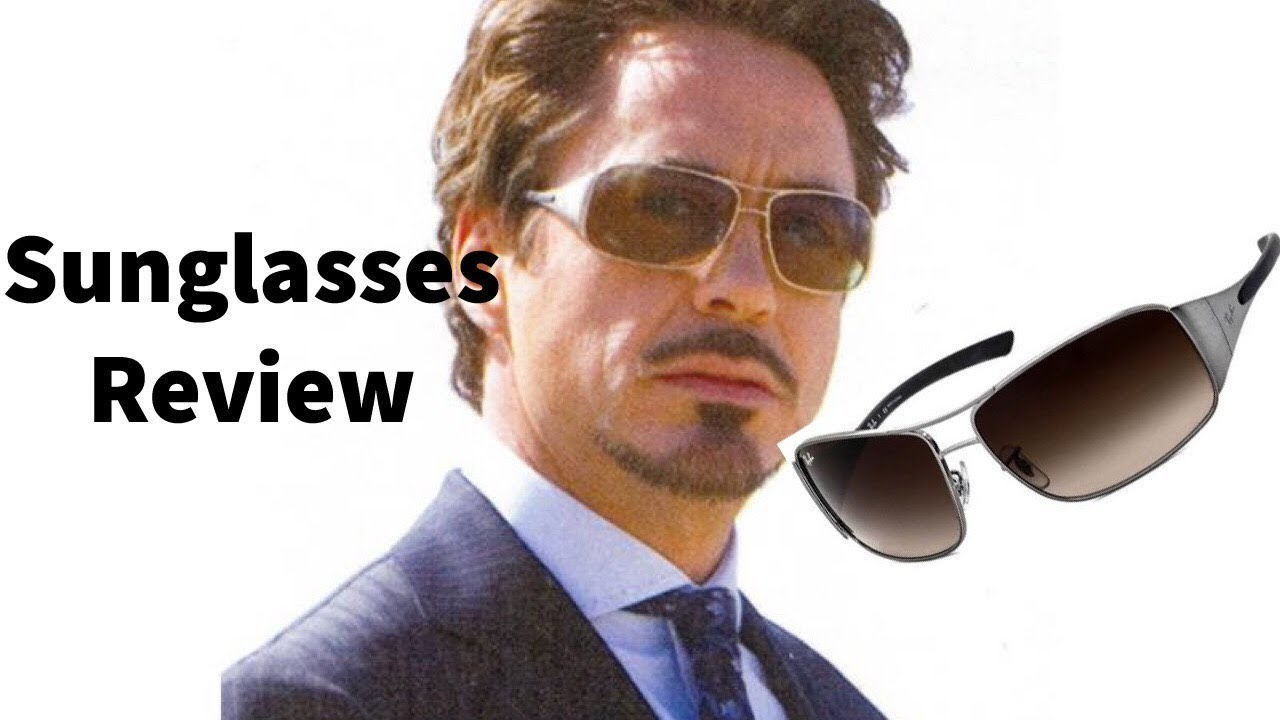 772bfd3b8 IRON MAN SUNGLASSES REVIEW: Ray-Ban 3320 - YouTube