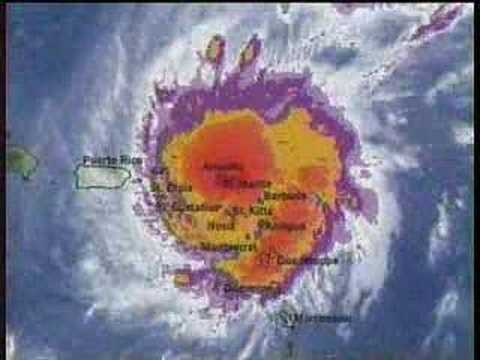 TWC Hurricane Lenny coverage 1999: Clip 7
