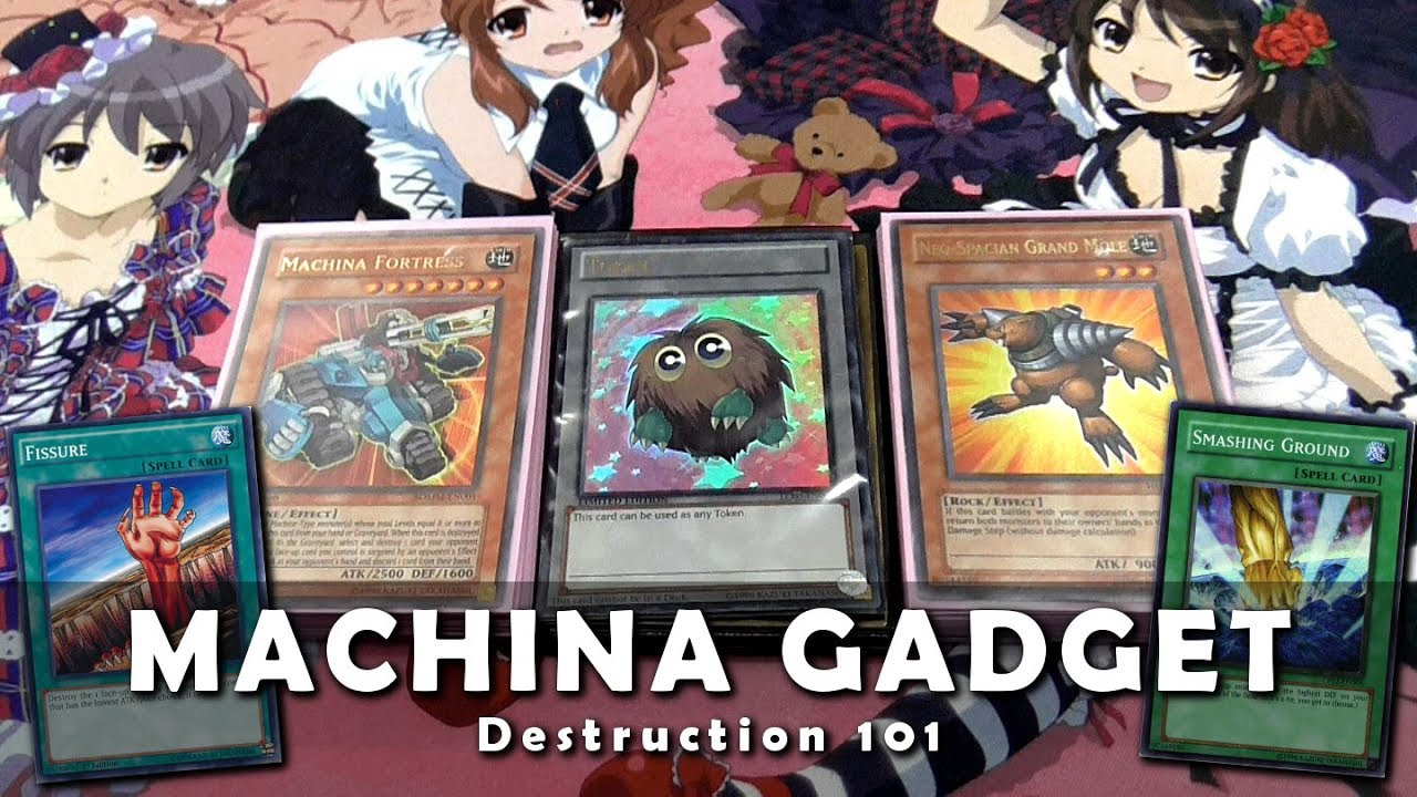 MACHINA GADGET 'DESTRUCTION' Deck Profile - Too Much Destruction! |  February 2018 Yugioh
