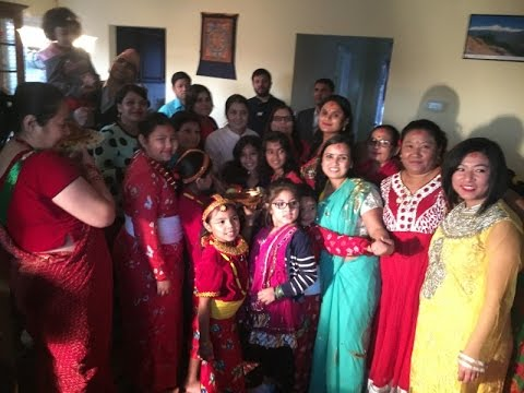 """Deusi Bhailo"" in Virginia by Womens Volunteers' Nepali Language Class -Students"