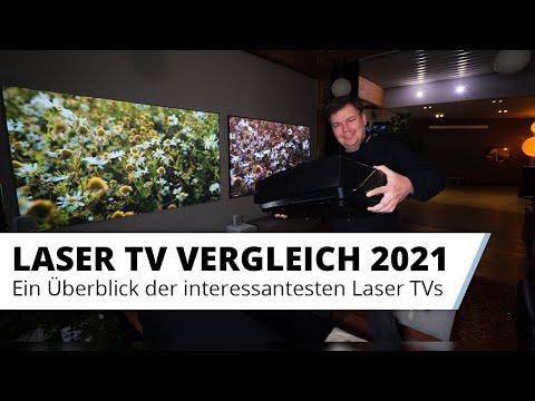 Die Laser TV Highlights 2021 - Die interessantesten LaserTVs im Vergleich