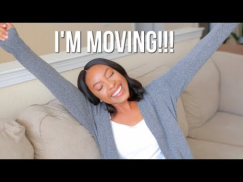 LIFE UPDATE: I'M MOVING!!