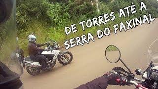 De Torres até a Serra do Faxinal - Honda Transalp XL700V