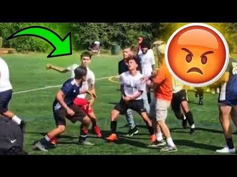 HighSchool SOCCER FIGHTS 2019-2020 Compilation |