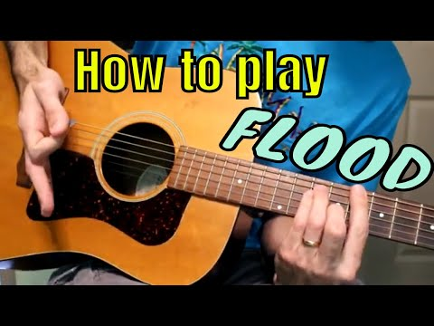 how to play flood by jars of clay (using standard - non-standard tunings)
