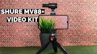 SHURE MV88+ Mikrofon Video Kit Android & iOS | CH3 Review Test Deutsch