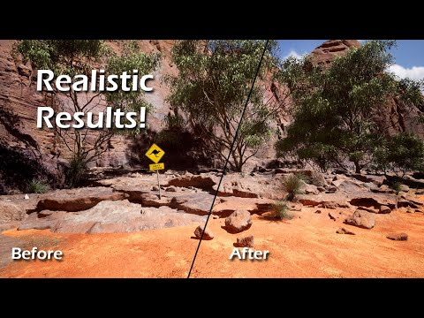 How to Blend Objects with Your Landscape - UE4 Virtual Texture Tutorial
