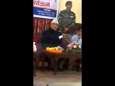kimathanka to biratnagar road meeting in p.m house