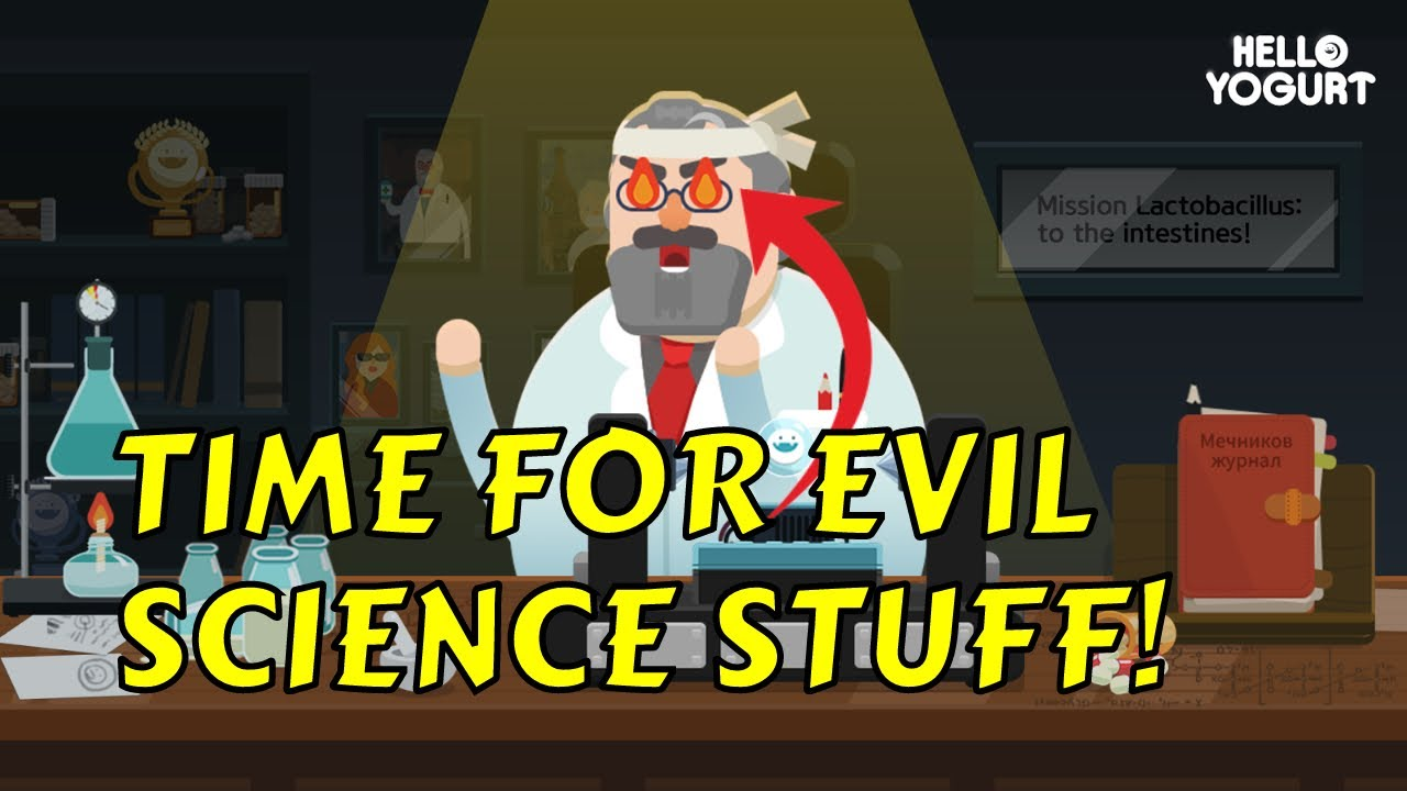 hello yogurt casual evil scientist game first impressions youtube