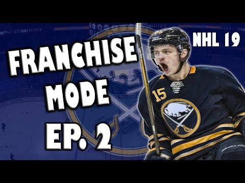 NHL 19 Buffalo Sabres Franchise Episode 2