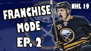 NHL 19 Buffalo Sabres Franchise Episode 2