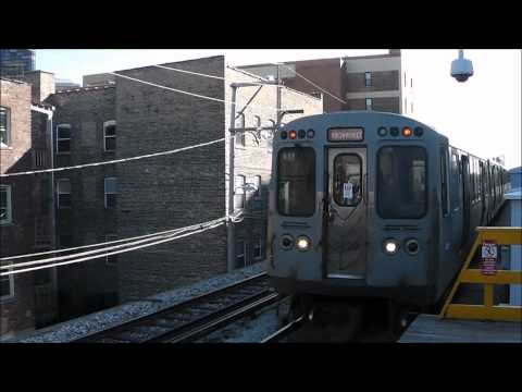 CTA 'L' Tidbits: Train Bunching & Operator Training Train, Bryn Mawr & Adams/Wabash
