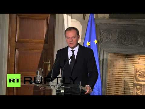 Greece: 'Do not come to Europe,' EU's Tusk tells economic migrants