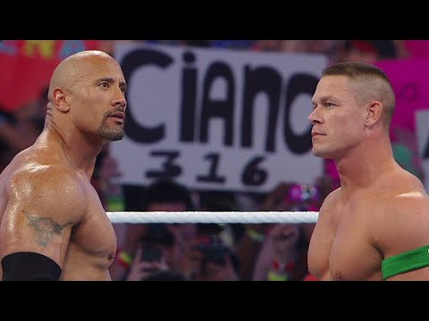 John Cena vs. The Rock: WrestleMania 28