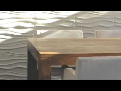 wallart france panneaux de d coration 3d youtube. Black Bedroom Furniture Sets. Home Design Ideas