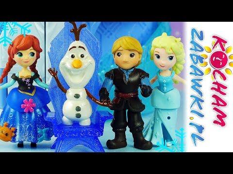 Barbie Mega Bloks Lego Frozen Impreza U Elsy Bajki Dla Dzieci