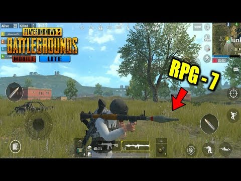 *NEW* PUBG Mobile LITE - RPG-7 BAZOOKA Android Gameplay 60FPS