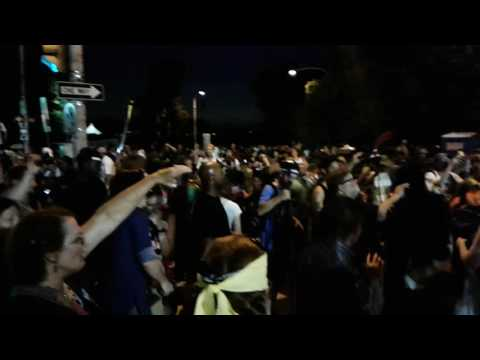 Superdelegates got to go! Protest outside DNC after HRC is named Democratic nominee- 07.27.16