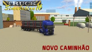 Truck Simulation 16 - Viagem Com Acidente