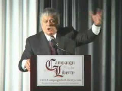 Judge Andrew Napolitano Natural Rights and The Patriot Act part 1 of 3