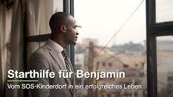 Starthilfe für Benjamin - vom SOS-Kinderdorf in ein erfolgreiches Leben