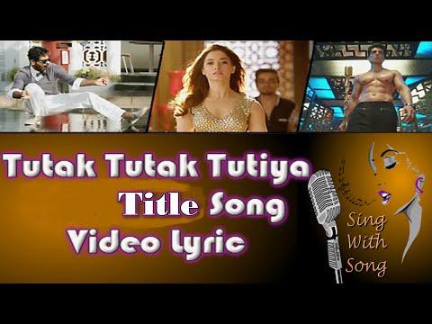 Tutak Tutak Tutiya Lyrics Video (Title...